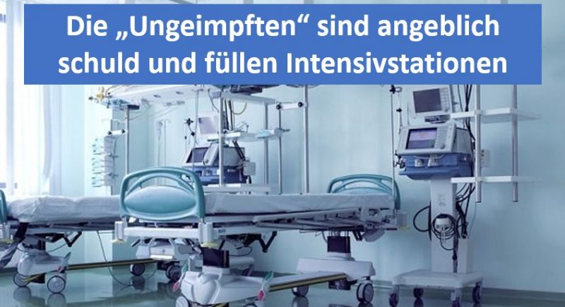 Intensivstation füllen sich mit angeblich Ungeimpften